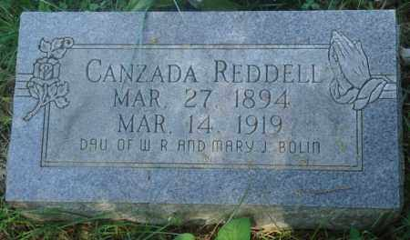 REDDELL, CANZADA (2) - Newton County, Arkansas | CANZADA (2) REDDELL - Arkansas Gravestone Photos
