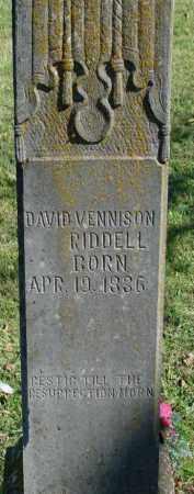 "REDDELL, DAVID VINCENT ""VENNISON"" - Newton County, Arkansas | DAVID VINCENT ""VENNISON"" REDDELL - Arkansas Gravestone Photos"