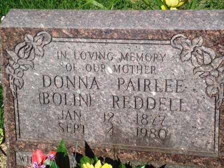 REDDELL, DONNA PAIRLEE - Newton County, Arkansas | DONNA PAIRLEE REDDELL - Arkansas Gravestone Photos