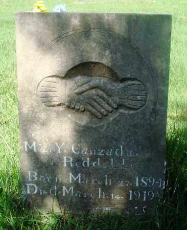 REDDELL, MARY CANZADA - Newton County, Arkansas | MARY CANZADA REDDELL - Arkansas Gravestone Photos