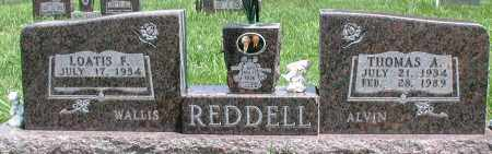 REDDELL, THOMAS A - Newton County, Arkansas | THOMAS A REDDELL - Arkansas Gravestone Photos