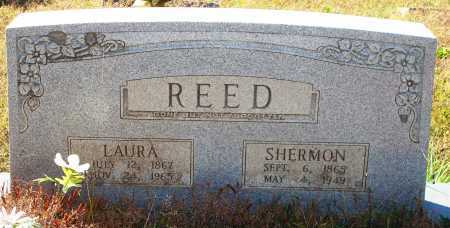 REED, LAURA - Newton County, Arkansas | LAURA REED - Arkansas Gravestone Photos