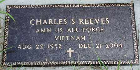 REEVES (VETERAN VIET), CHARLES S - Newton County, Arkansas | CHARLES S REEVES (VETERAN VIET) - Arkansas Gravestone Photos