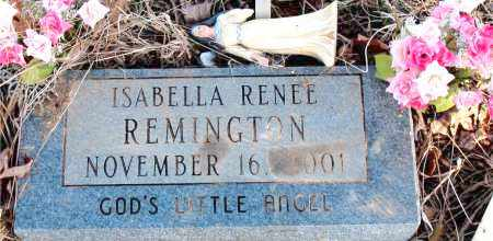 REMINGTON, ISABELLA RENEE - Newton County, Arkansas | ISABELLA RENEE REMINGTON - Arkansas Gravestone Photos