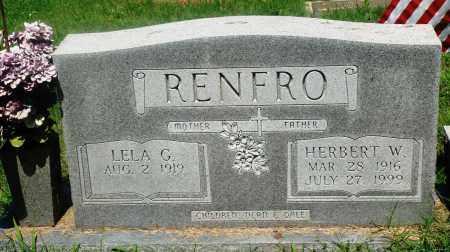 RENFRO, HERBERT W - Newton County, Arkansas | HERBERT W RENFRO - Arkansas Gravestone Photos
