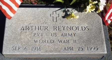 REYNOLDS  (VETERAN WWII), ARTHUR - Newton County, Arkansas | ARTHUR REYNOLDS  (VETERAN WWII) - Arkansas Gravestone Photos