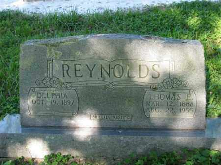REYNOLDS, THOMAS E. - Newton County, Arkansas | THOMAS E. REYNOLDS - Arkansas Gravestone Photos