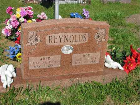 REYNOLDS, ADER - Newton County, Arkansas | ADER REYNOLDS - Arkansas Gravestone Photos