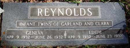 REYNOLDS, GENEVA - Newton County, Arkansas | GENEVA REYNOLDS - Arkansas Gravestone Photos