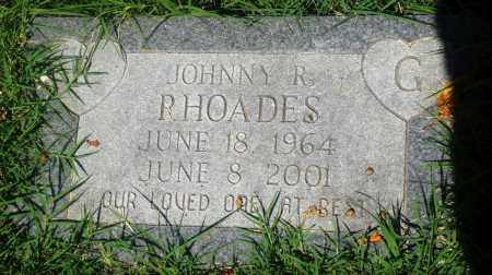 RHOADES, JOHNNY R - Newton County, Arkansas | JOHNNY R RHOADES - Arkansas Gravestone Photos