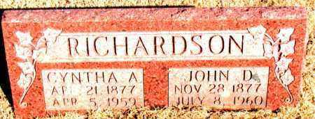RICHARDSON, CYNTHA ARDELIA - Newton County, Arkansas | CYNTHA ARDELIA RICHARDSON - Arkansas Gravestone Photos