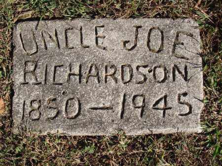 RICHARDSON, JOE - Newton County, Arkansas | JOE RICHARDSON - Arkansas Gravestone Photos