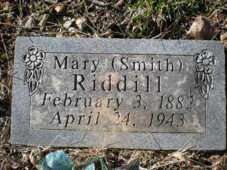 SMITH RIDDILL, MARY - Newton County, Arkansas | MARY SMITH RIDDILL - Arkansas Gravestone Photos