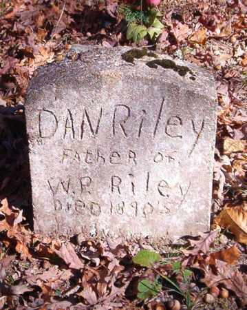 RILEY, DAN - Newton County, Arkansas | DAN RILEY - Arkansas Gravestone Photos