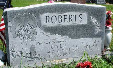 ROBERTS, COY LEE - Newton County, Arkansas | COY LEE ROBERTS - Arkansas Gravestone Photos