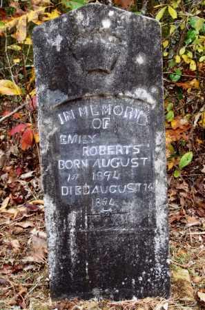 ROBERTS, EMILY - Newton County, Arkansas | EMILY ROBERTS - Arkansas Gravestone Photos