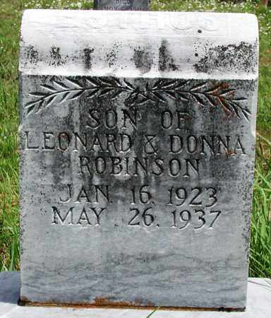 ROBINSON, ESTHUS - Newton County, Arkansas | ESTHUS ROBINSON - Arkansas Gravestone Photos