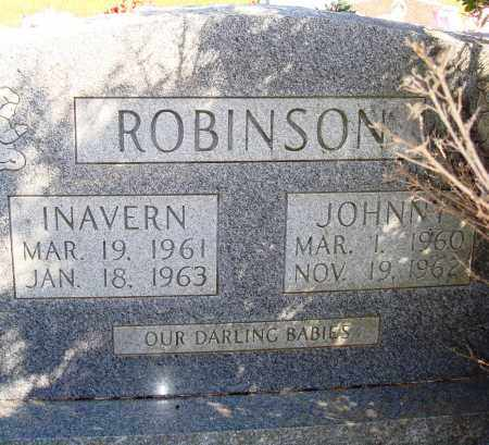 ROBINSON, JOHNNY - Newton County, Arkansas | JOHNNY ROBINSON - Arkansas Gravestone Photos