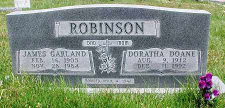 ROBINSON, JAMES GARLAND - Newton County, Arkansas | JAMES GARLAND ROBINSON - Arkansas Gravestone Photos