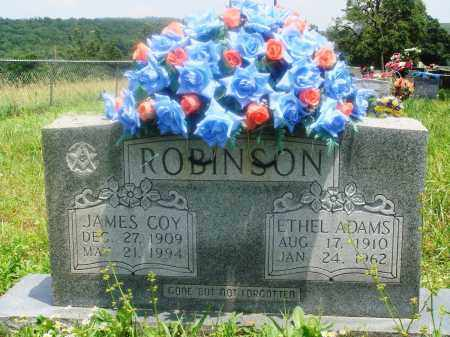 ADAMS ROBINSON, ETHEL - Newton County, Arkansas | ETHEL ADAMS ROBINSON - Arkansas Gravestone Photos