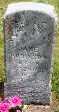 ROBINSON, JANE - Newton County, Arkansas | JANE ROBINSON - Arkansas Gravestone Photos
