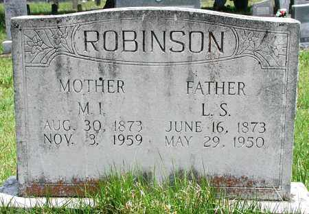 ROBINSON, LOUIS S - Newton County, Arkansas | LOUIS S ROBINSON - Arkansas Gravestone Photos