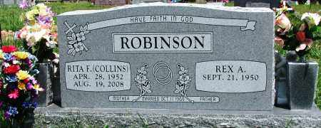 COLLINS ROBINSON, RITA F - Newton County, Arkansas | RITA F COLLINS ROBINSON - Arkansas Gravestone Photos