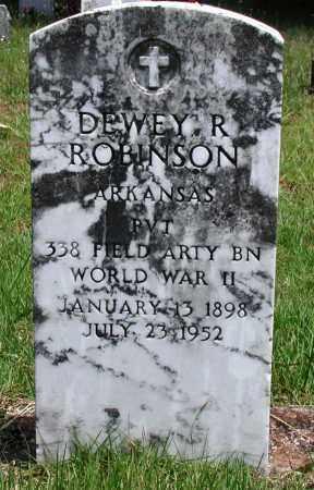 ROBINSON (VETERAN WWII), DEWEY R - Newton County, Arkansas | DEWEY R ROBINSON (VETERAN WWII) - Arkansas Gravestone Photos