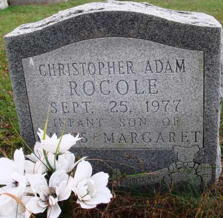 ROCOLE, CHRISTOPHER ADAM - Newton County, Arkansas | CHRISTOPHER ADAM ROCOLE - Arkansas Gravestone Photos