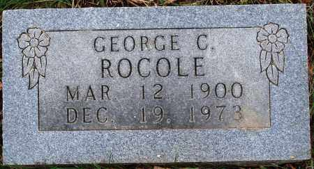 ROCOLE, GEORGE C. - Newton County, Arkansas | GEORGE C. ROCOLE - Arkansas Gravestone Photos