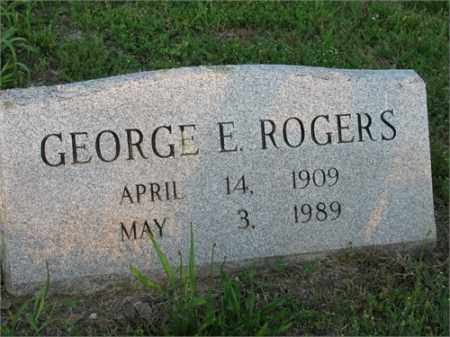ROGERS, GEORGE E. - Newton County, Arkansas | GEORGE E. ROGERS - Arkansas Gravestone Photos