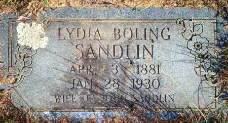 BOLING SANDLIN, LYDIA - Newton County, Arkansas | LYDIA BOLING SANDLIN - Arkansas Gravestone Photos