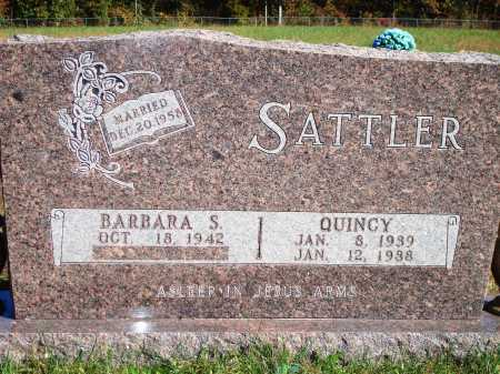 SATTLER, QUINCY - Newton County, Arkansas | QUINCY SATTLER - Arkansas Gravestone Photos