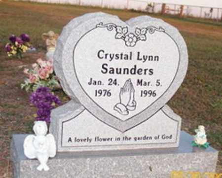SAUNDERS, CRYSTAL LYNN - Newton County, Arkansas | CRYSTAL LYNN SAUNDERS - Arkansas Gravestone Photos