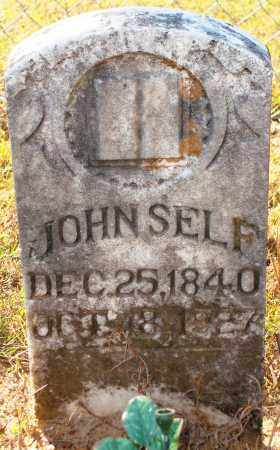 SELF, JOHN - Newton County, Arkansas | JOHN SELF - Arkansas Gravestone Photos