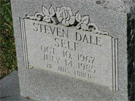 SELF, STEVEN DALE - Newton County, Arkansas | STEVEN DALE SELF - Arkansas Gravestone Photos