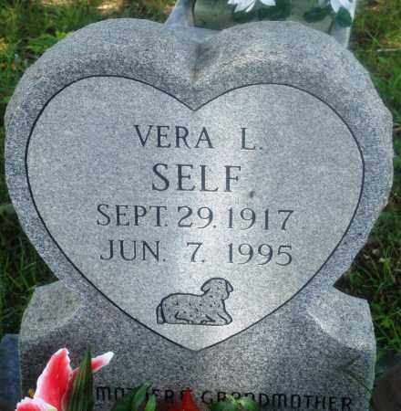 SELF, VERA L - Newton County, Arkansas | VERA L SELF - Arkansas Gravestone Photos
