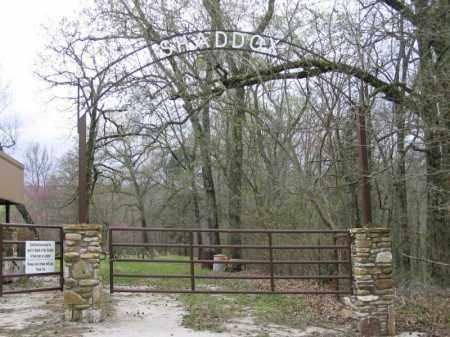 *SHADDOX CEMETERY ENTRANCE,  - Newton County, Arkansas |  *SHADDOX CEMETERY ENTRANCE - Arkansas Gravestone Photos