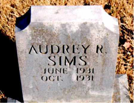 SIMS, AUDREY  R. - Newton County, Arkansas | AUDREY  R. SIMS - Arkansas Gravestone Photos
