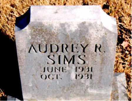 SIMS, AUDREY R - Newton County, Arkansas | AUDREY R SIMS - Arkansas Gravestone Photos