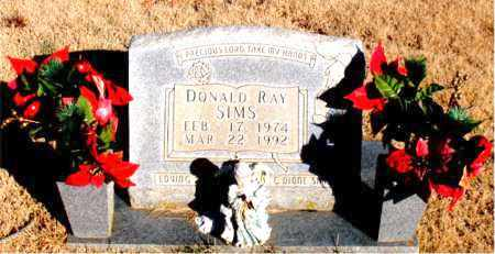 SIMS, DONALD RAY - Newton County, Arkansas | DONALD RAY SIMS - Arkansas Gravestone Photos