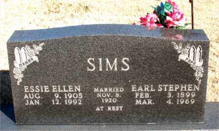 SIMS, EARL STEPHEN - Newton County, Arkansas | EARL STEPHEN SIMS - Arkansas Gravestone Photos