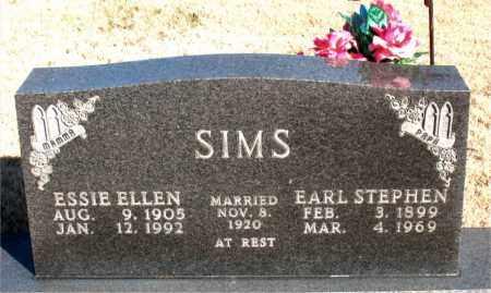 SIMS, ESSIE ELLEN - Newton County, Arkansas | ESSIE ELLEN SIMS - Arkansas Gravestone Photos