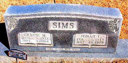 SIMS, JONAH  L. - Newton County, Arkansas | JONAH  L. SIMS - Arkansas Gravestone Photos