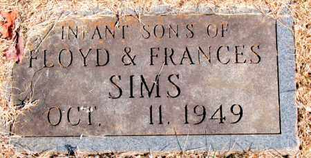 SIMS, INFANT SONS - Newton County, Arkansas | INFANT SONS SIMS - Arkansas Gravestone Photos