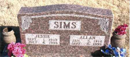 SIMS, JESSIE - Newton County, Arkansas | JESSIE SIMS - Arkansas Gravestone Photos