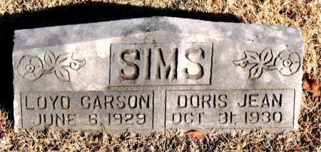 SIMS, DORIS JEAN - Newton County, Arkansas | DORIS JEAN SIMS - Arkansas Gravestone Photos