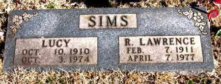SIMS, R.  LAWRENCE - Newton County, Arkansas | R.  LAWRENCE SIMS - Arkansas Gravestone Photos