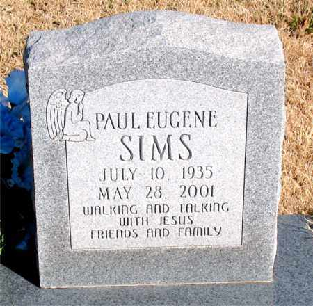 SIMS, PAUL EUGENE - Newton County, Arkansas | PAUL EUGENE SIMS - Arkansas Gravestone Photos