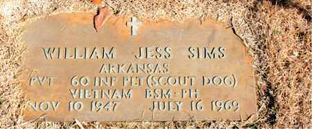 SIMS  (VETERAN VIET, KIA), WILLIAM JESS - Newton County, Arkansas | WILLIAM JESS SIMS  (VETERAN VIET, KIA) - Arkansas Gravestone Photos